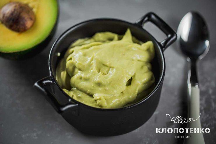 Соус винегрет из авокадо