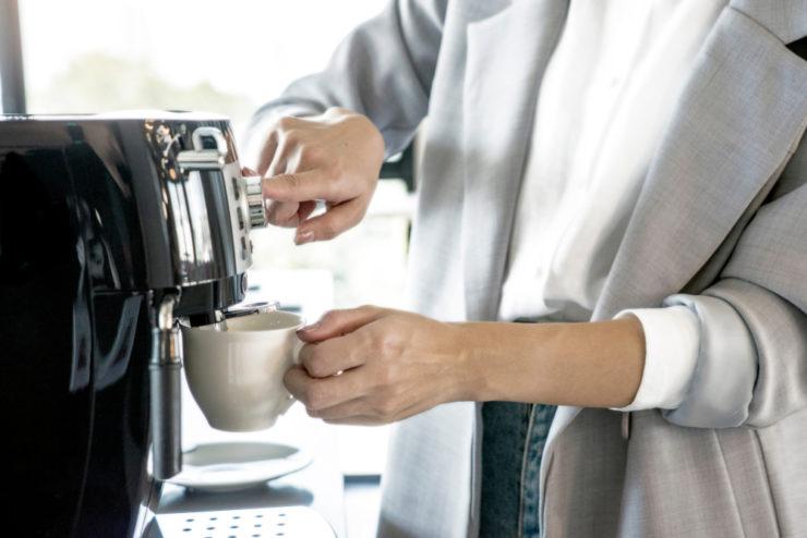 кофемашина для зернового кофе