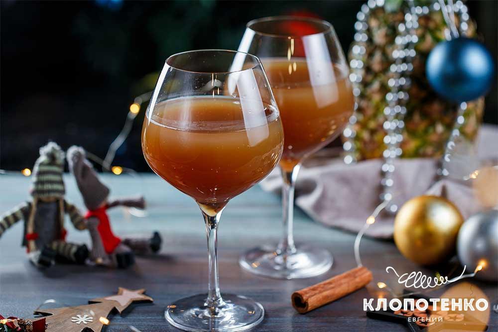Коктейль с коньяком и ананасовым соком