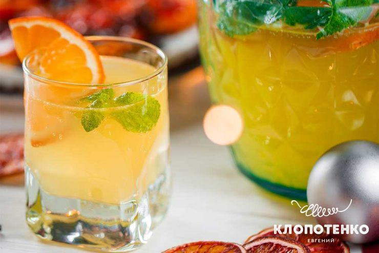 Мандариновый лимонад с имбирем
