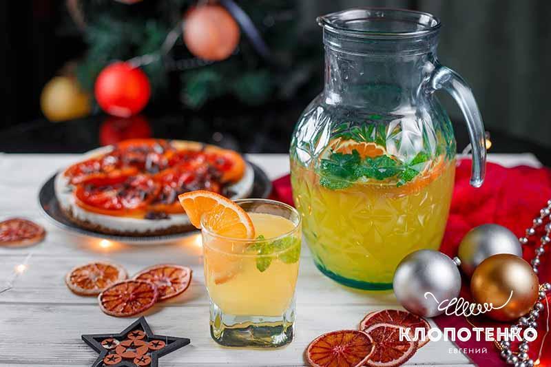 что приготовить на новый год. Мандариновый лимонад