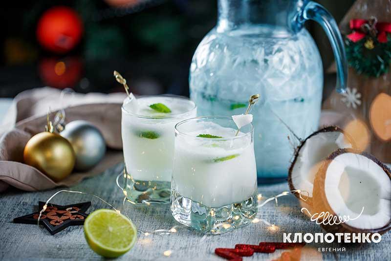 Лимонад с кокосом и лаймом