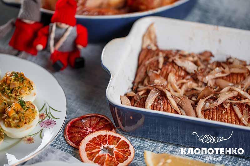 Новый год. Картофель с грибами