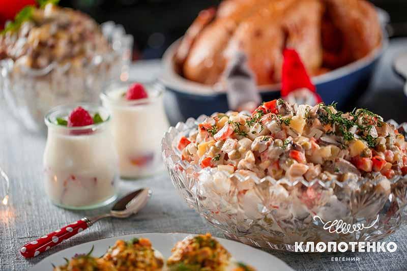 Что приготовить на Новый год. салат оливье