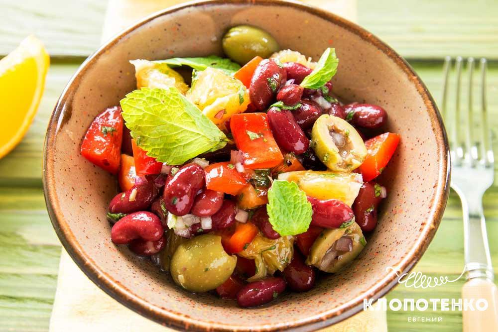 марокканский салат на рождество