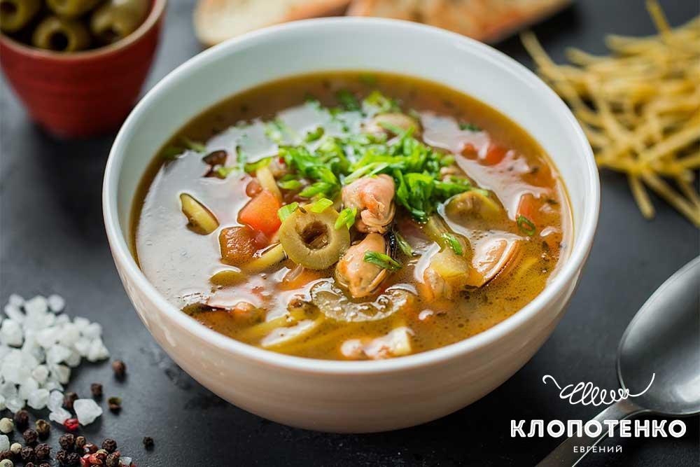 Суп з мідіями