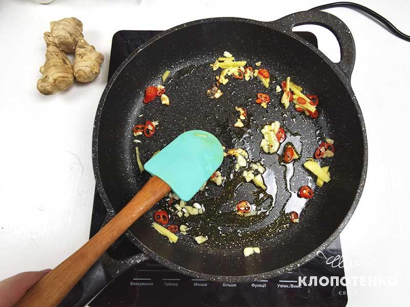Припустите ингредиенты для соуса