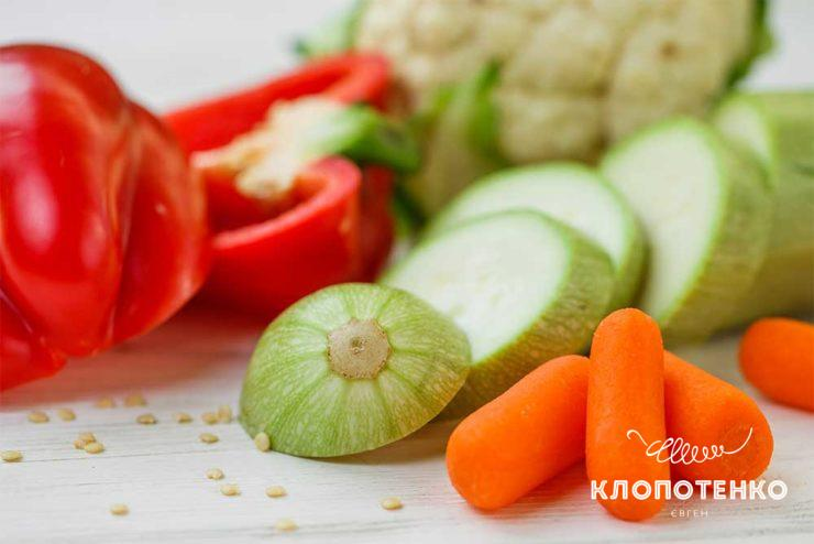Овочі на парі