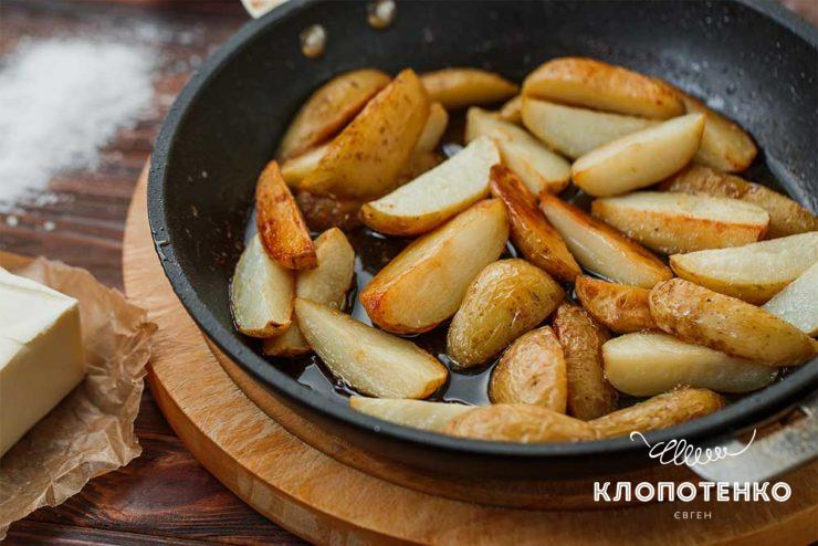 Молодой картофель в духовке