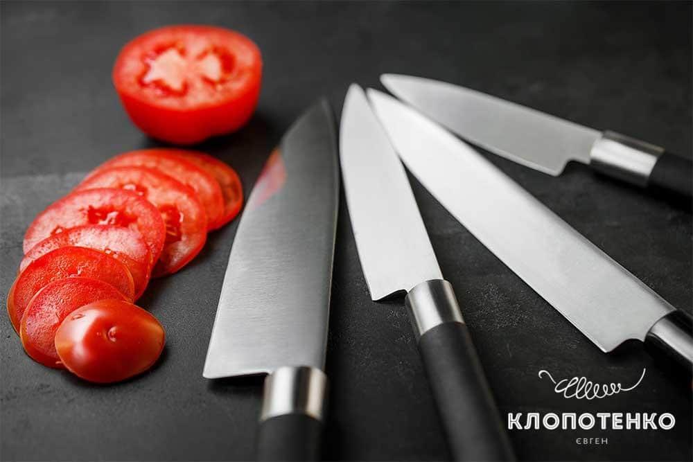 Як заточити ножі