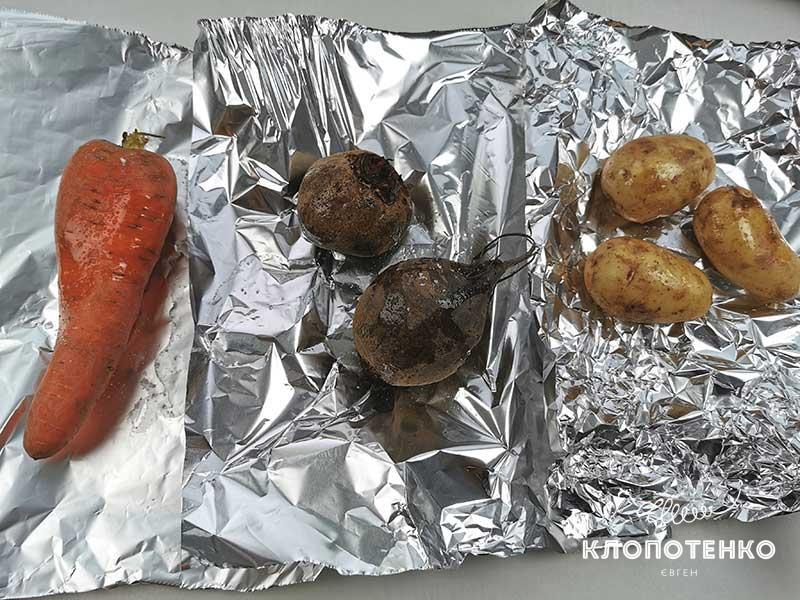 Запеките овощи