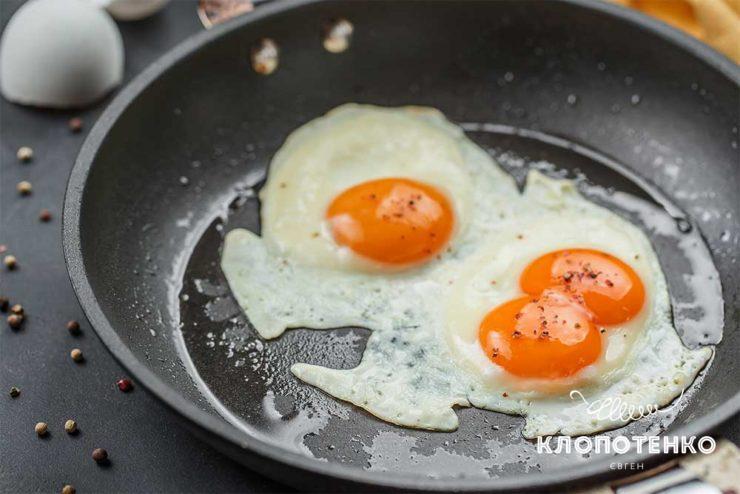 Як смажити яйця