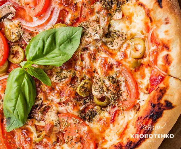 Піца на пательні