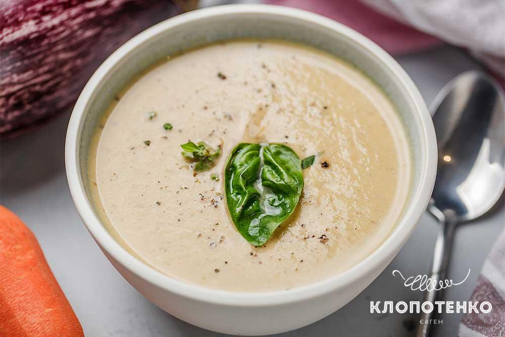 Крем-суп з баклажанів