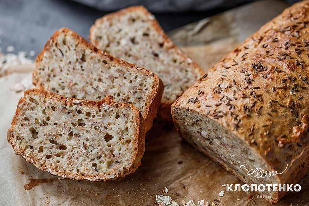 Вівсяний хліб із кмином