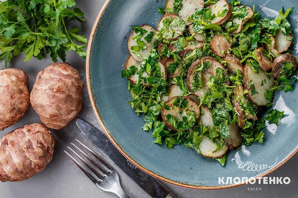 Легкі овочеві салати