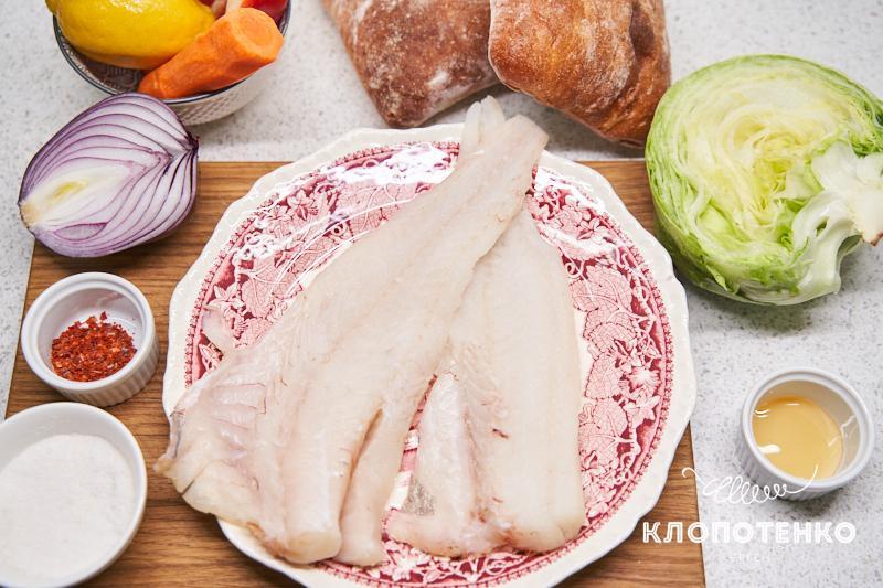 Подготовьте все ингредиенты для приготовления турецкого сэндвича