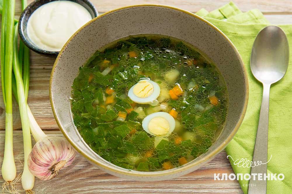 Весенние супы