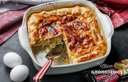 Тиропита: греческий сырный пирог
