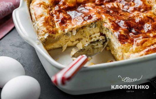 Тіропіта: грецький cирний пиріг
