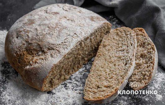 Житній хліб з конопляним борошном