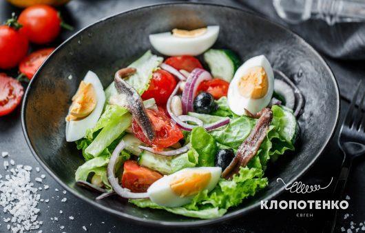 Вкусно как во Франции: простой рецепт салата Нисуаз