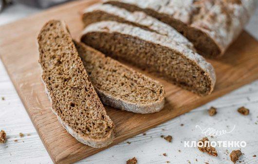 Ржаная мука и солод: вкусный украинский хлеб дома