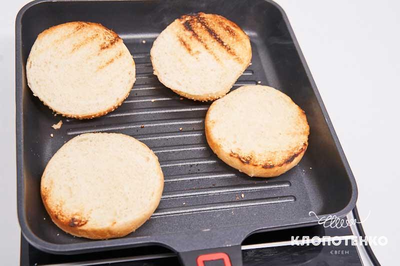Поджарьте булочки