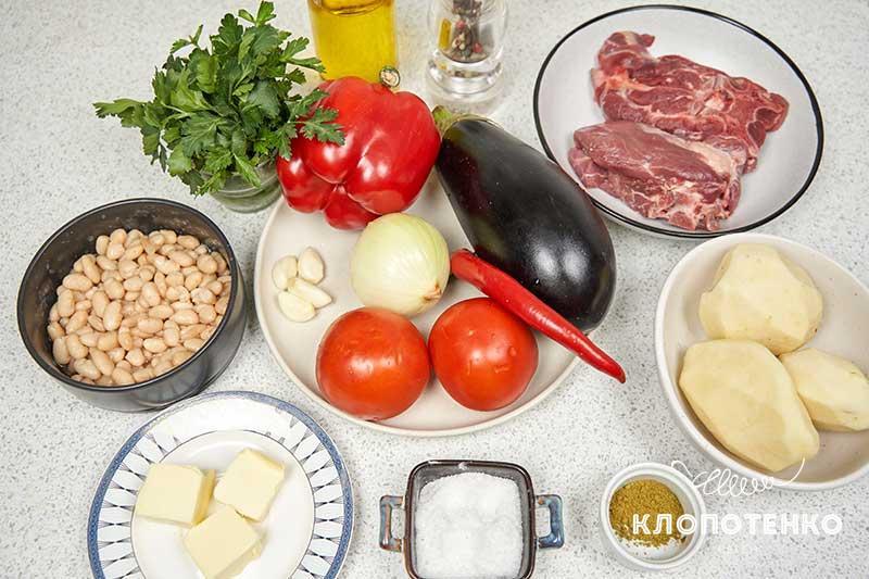 Подготовьте все ингредиенты для приготовления чанахи