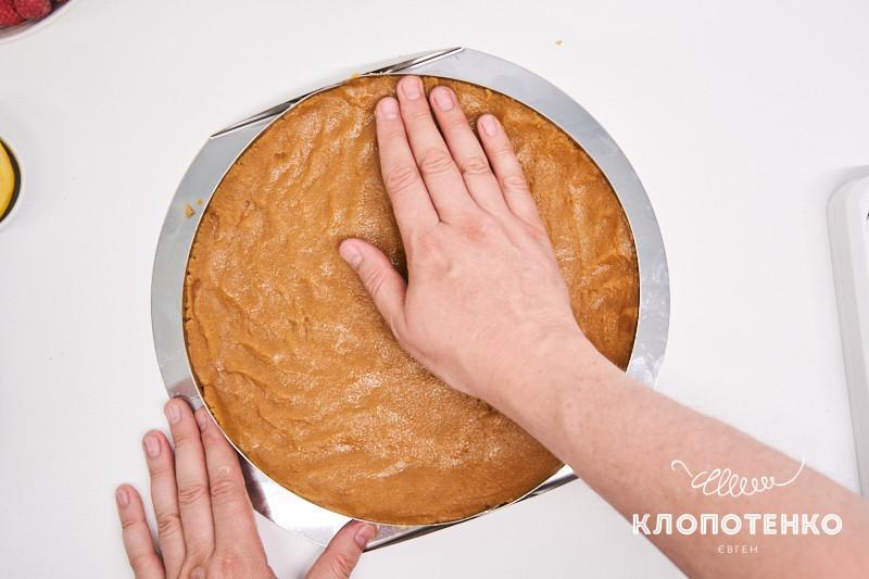 тарт с малиной без выпекания