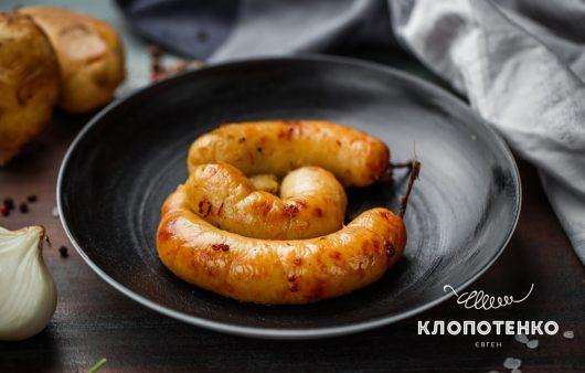 Альтернатива мясным колбаскам. Рецепт домашних колбасок из картофеля