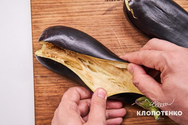 баклажаны с соусом тахини