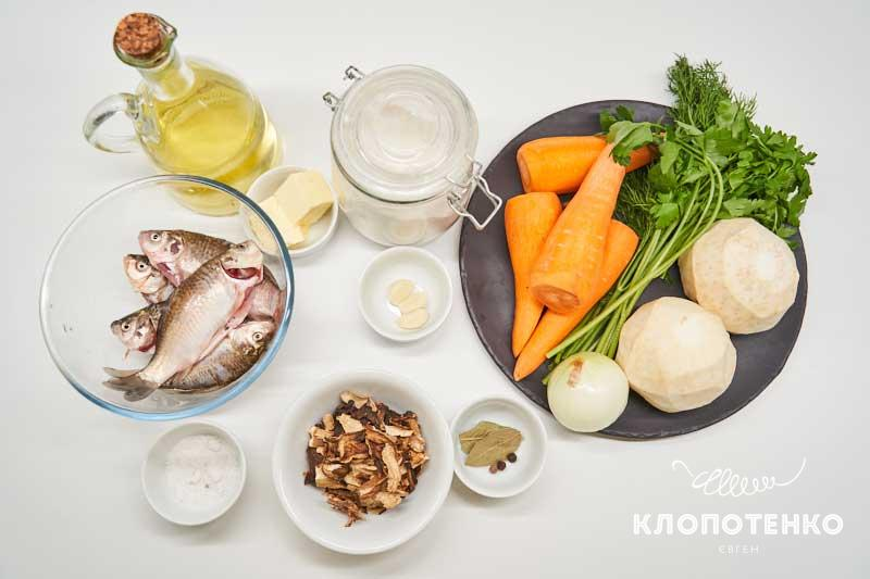 Подготовьте ингредиенты для калатуши