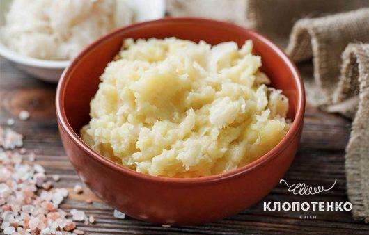Оригинальное картофельное пюре. Рецепт с квашеной капустой