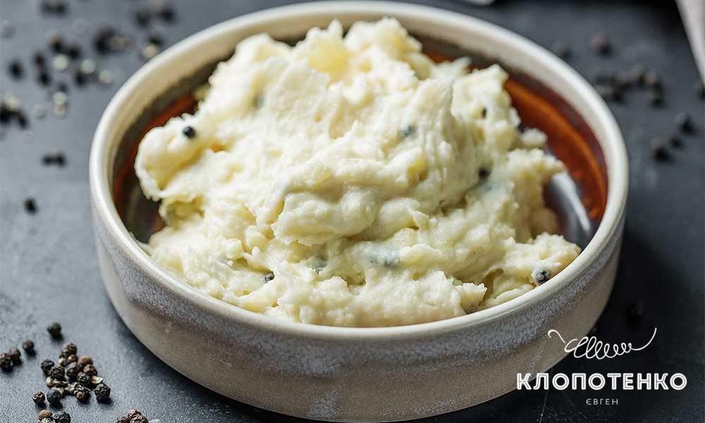 Картофельное пюре со сливками