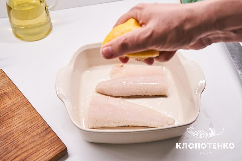 филе судака с соусом бер нуазет