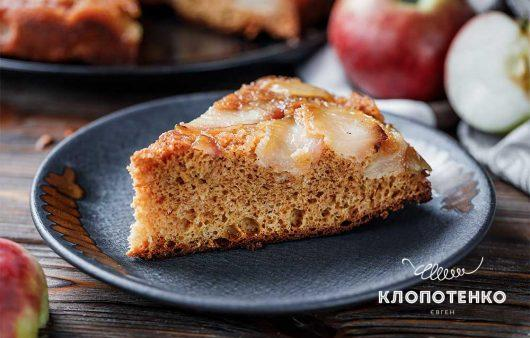Яблучний пиріг зі згущеним молоком «Мара»: золотава скоринка та карамельний смак